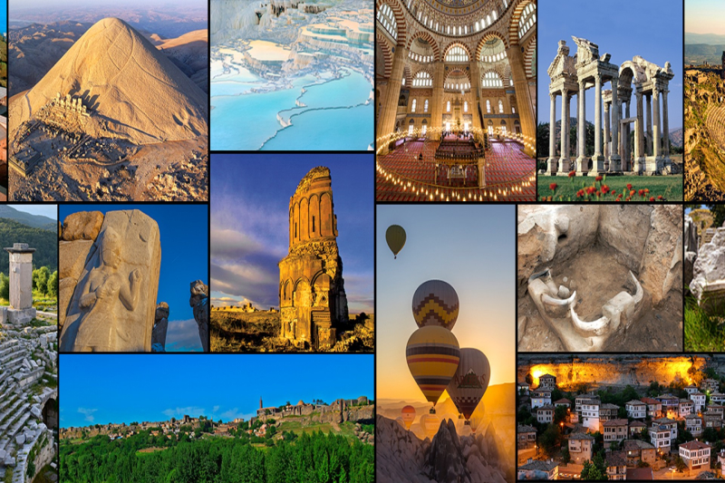 UNESCO WORLD HERITAGE SITES IN TURKEY