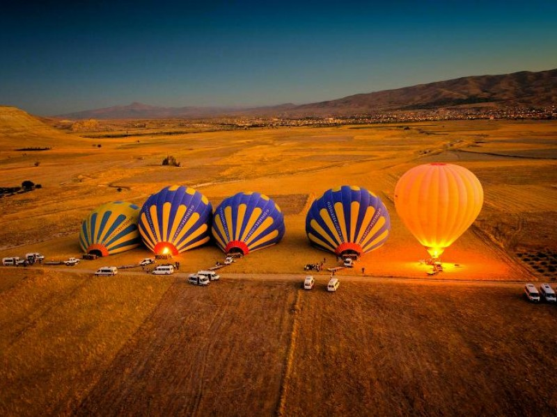 pamukkale hot air balloon