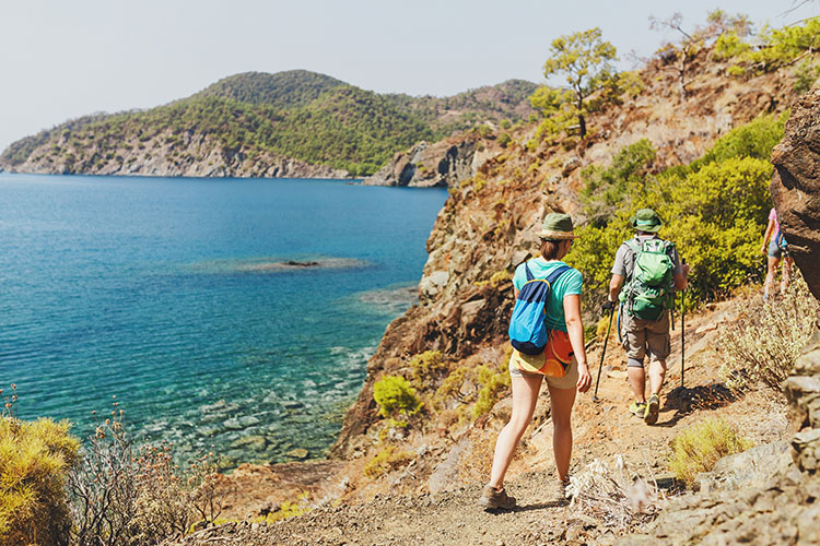 TURKEY´S FIVE TREKKING TRAILS STEEPED IN NATURE & ANCIENT HISTORY
