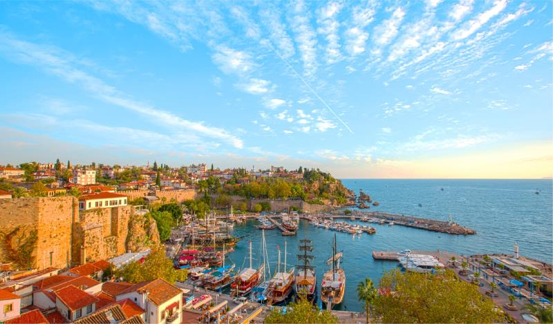 ANTALYA THE JEWEL OF THE MEDITERRANEAN